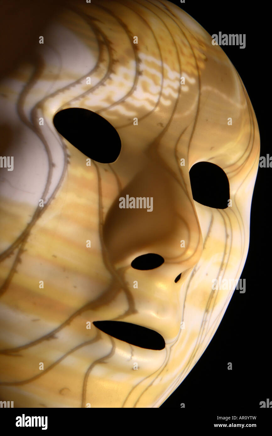 Thriller máscara facial. Imagen De Stock