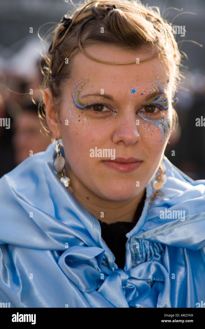 Face Painting Carnevale San Marco Imágenes De Stock & Face Painting ...