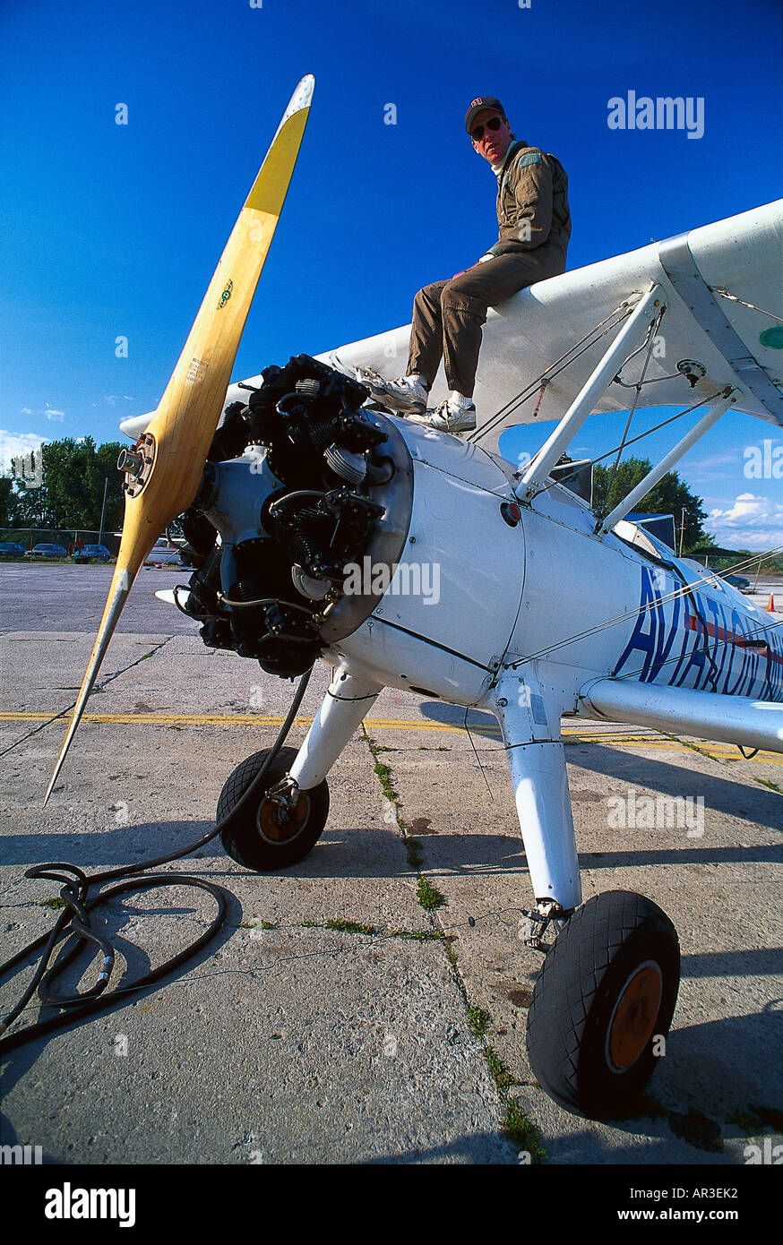 Museo del Espacio y de la Aviación de Canadá, en Ottawa, Canadá, América del Norte, América Foto de stock