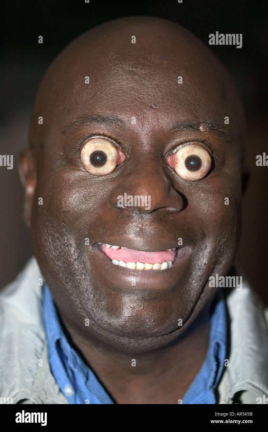 Pop de ojos grandes Foto de stock