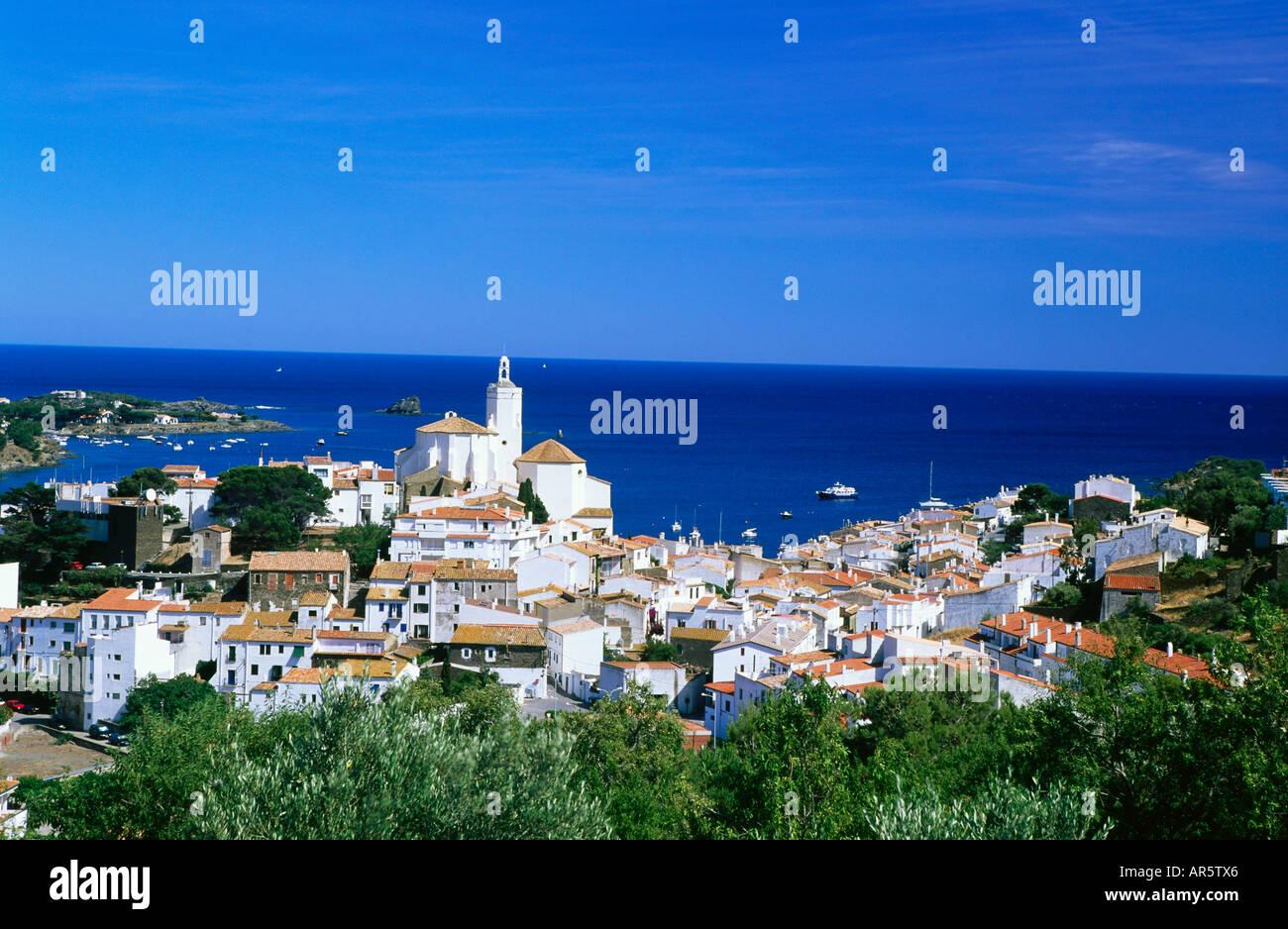 Cadaques, Costa Brava, provincia de Girona, Cataluña, España Imagen De Stock