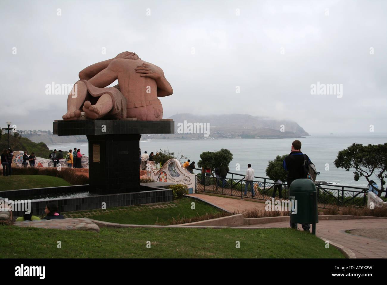 Parque del amor de Miraflores, Lima, Perú Imagen De Stock