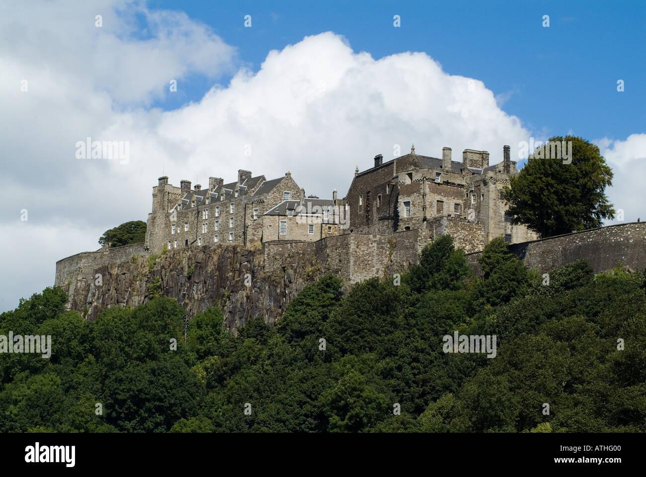 Dh Castillo Stirling STIRLING Castillos de Escocia STIRLINGSHIRE sitios históricos histórico de Escocia Foto de stock