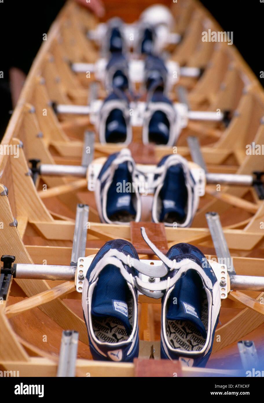 Escena en la regata Henley Royal en Henley Oxfordshire el remo anual evento tiene lugar cada mes de julio Imagen De Stock
