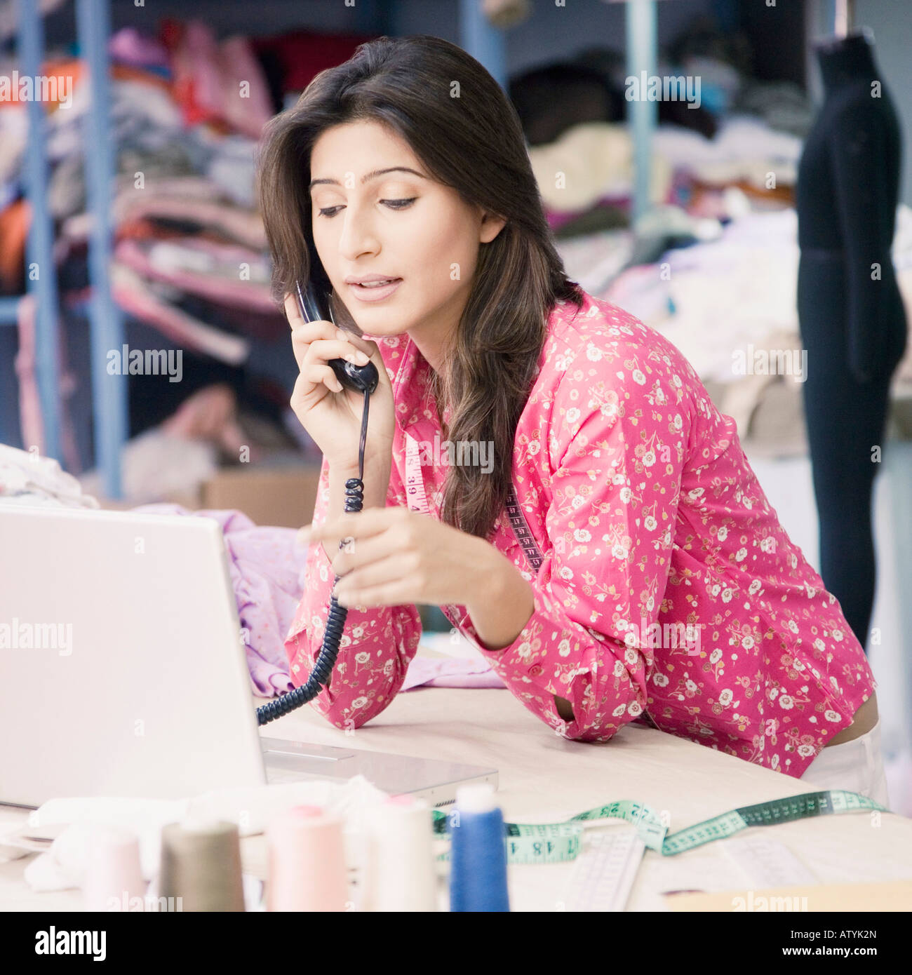 Indian Fashion Designer Imágenes De Stock & Indian Fashion Designer ...
