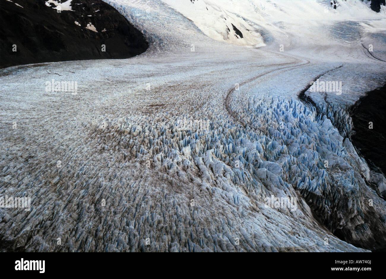 El Glaciar túnel (Tunnel Glaciares) en Santa Cruz, Patagonia Argentina Imagen De Stock