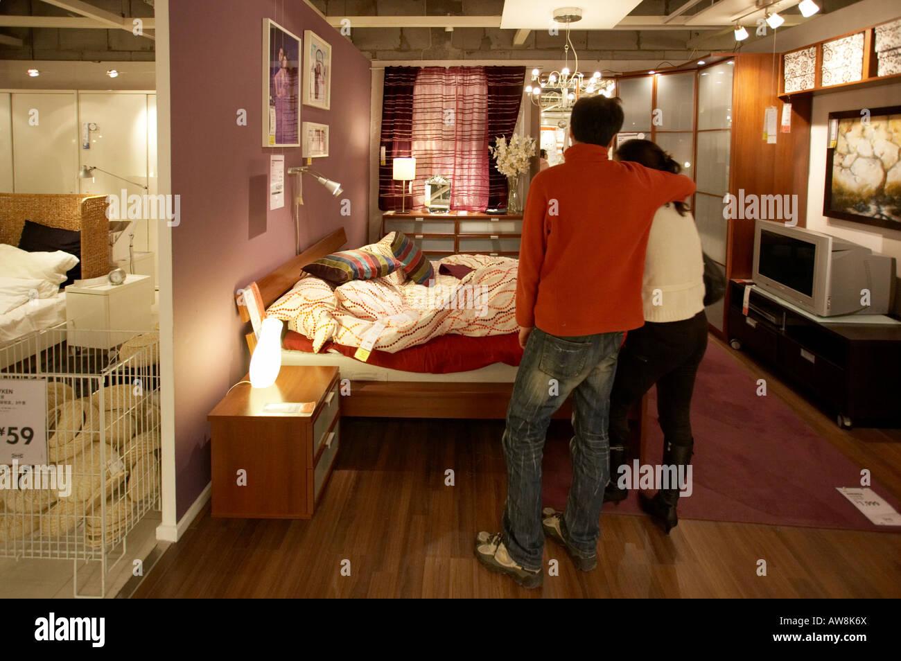 Ikea Shoppers Fotos e Imágenes de stock Alamy