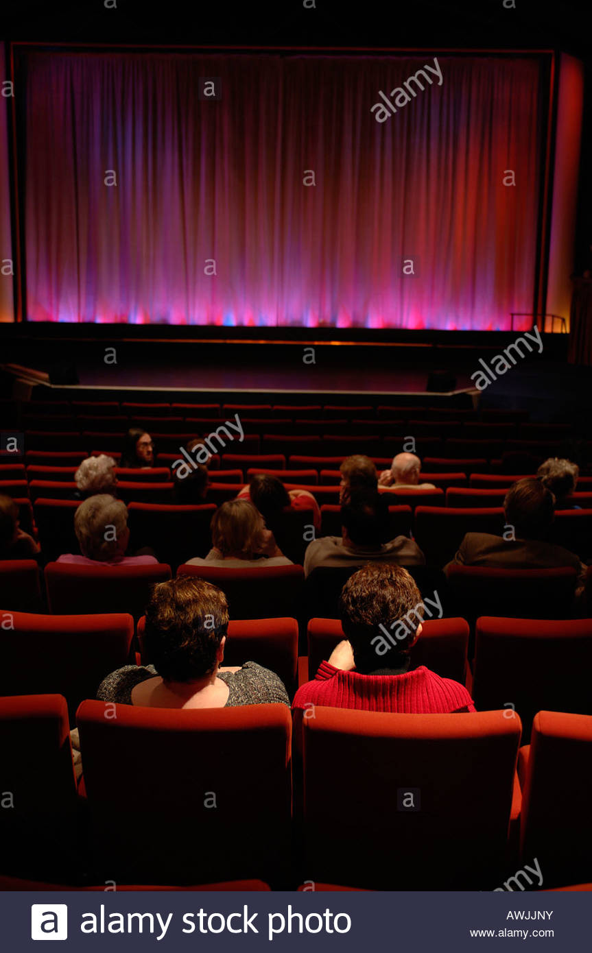 Auditorio cine Aldeburgh Suffolk UK Imagen De Stock