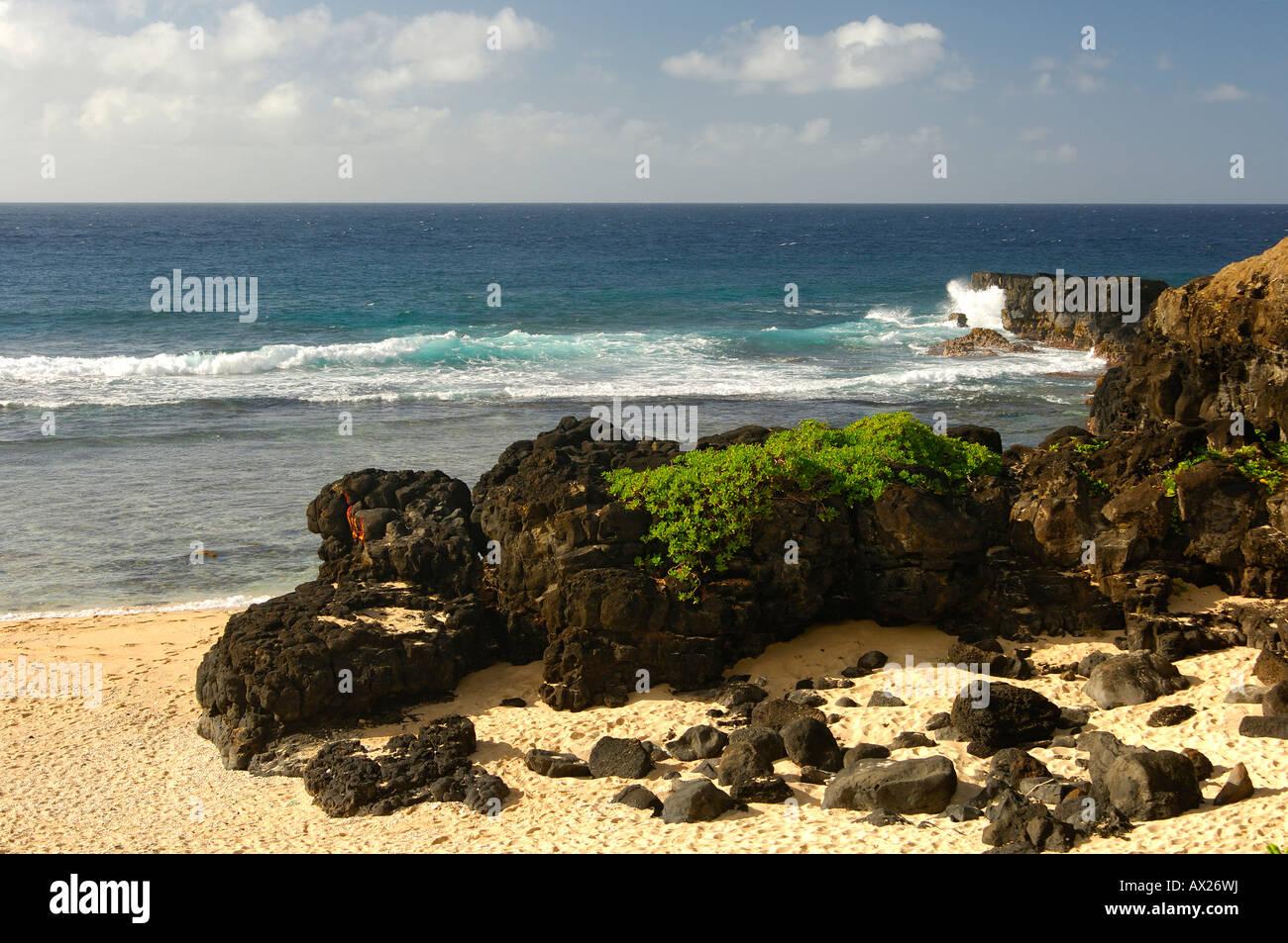 Al cabo Gris-Gris cerca de Souillac, en el sur de la Isla Mauricio Imagen De Stock