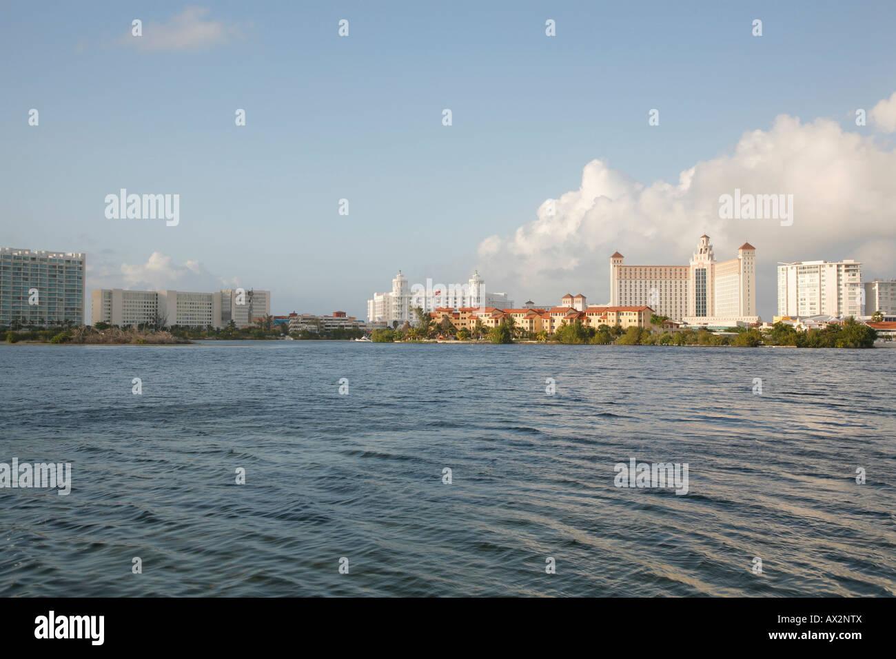 Hotel Zone, Cancun, México Imagen De Stock