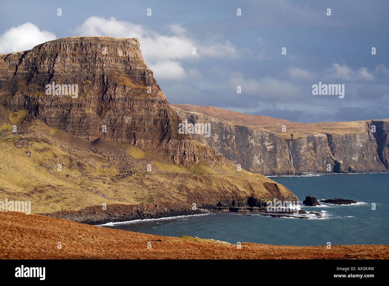 Waterstein Head, Moonen Bay Foto de stock