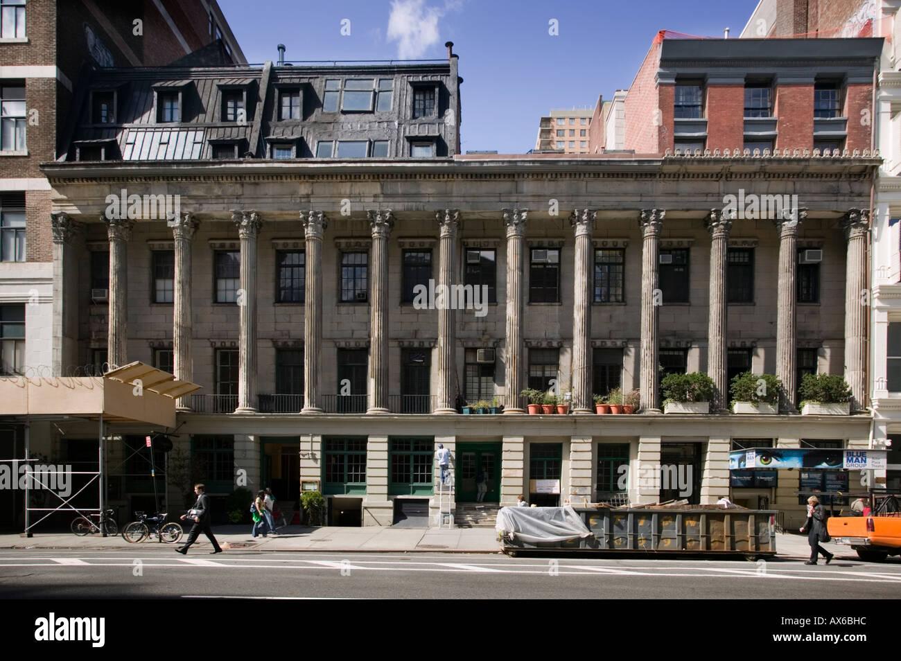 Colonnade Row aka LaGrange Terraza Lafayette Street East Village de la  ciudad de Nueva York Imagen df1339e3bc0