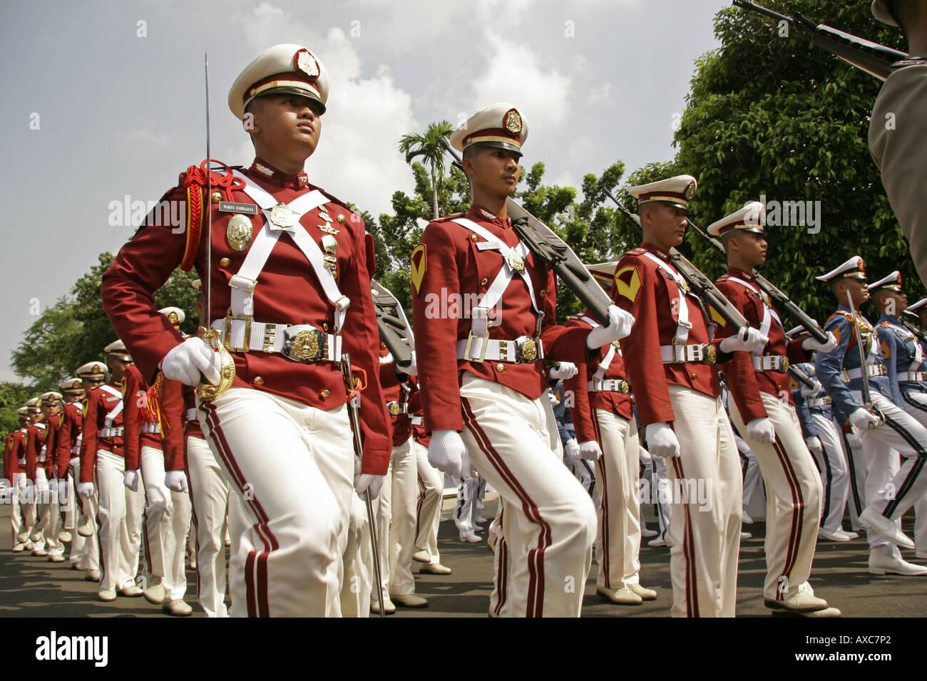 Increíble Día De La Independencia De Indonesia Para Colorear Motivo ...