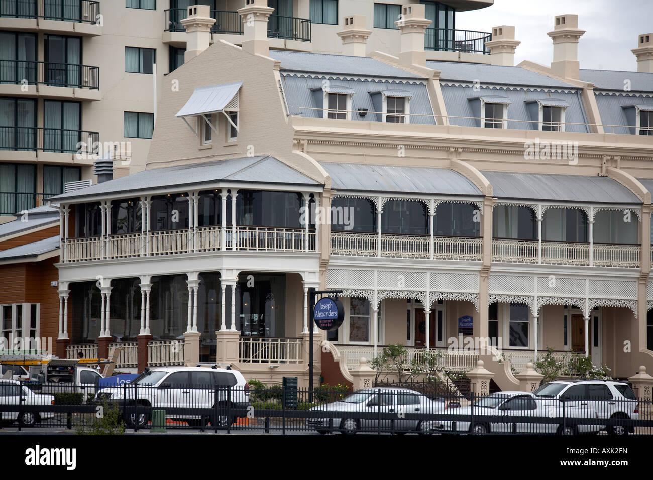 Terraza Victoriana Tradicionales Edificios Históricos En