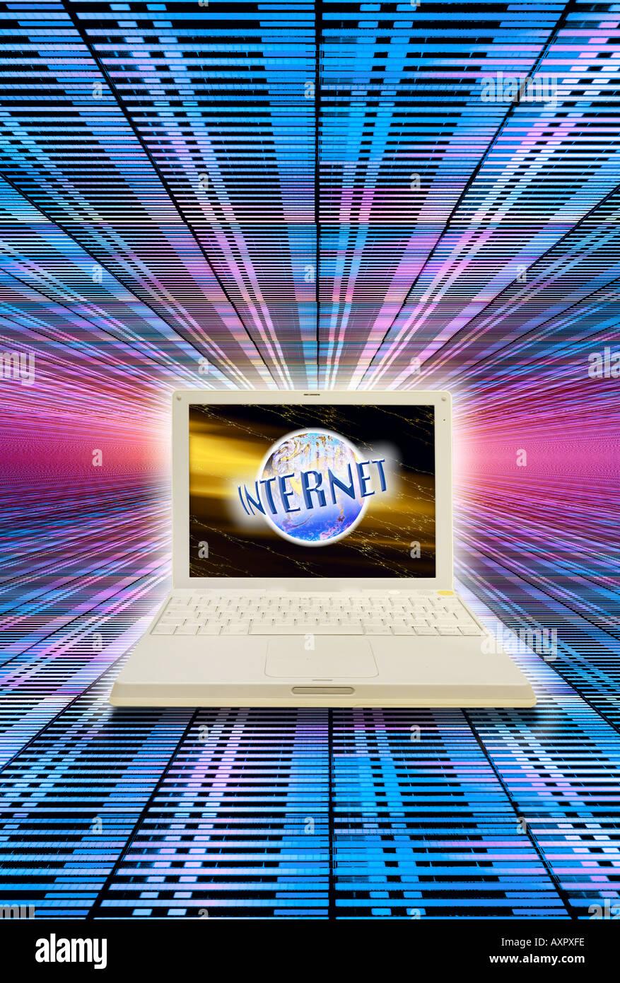 Concepto de internet Imagen De Stock