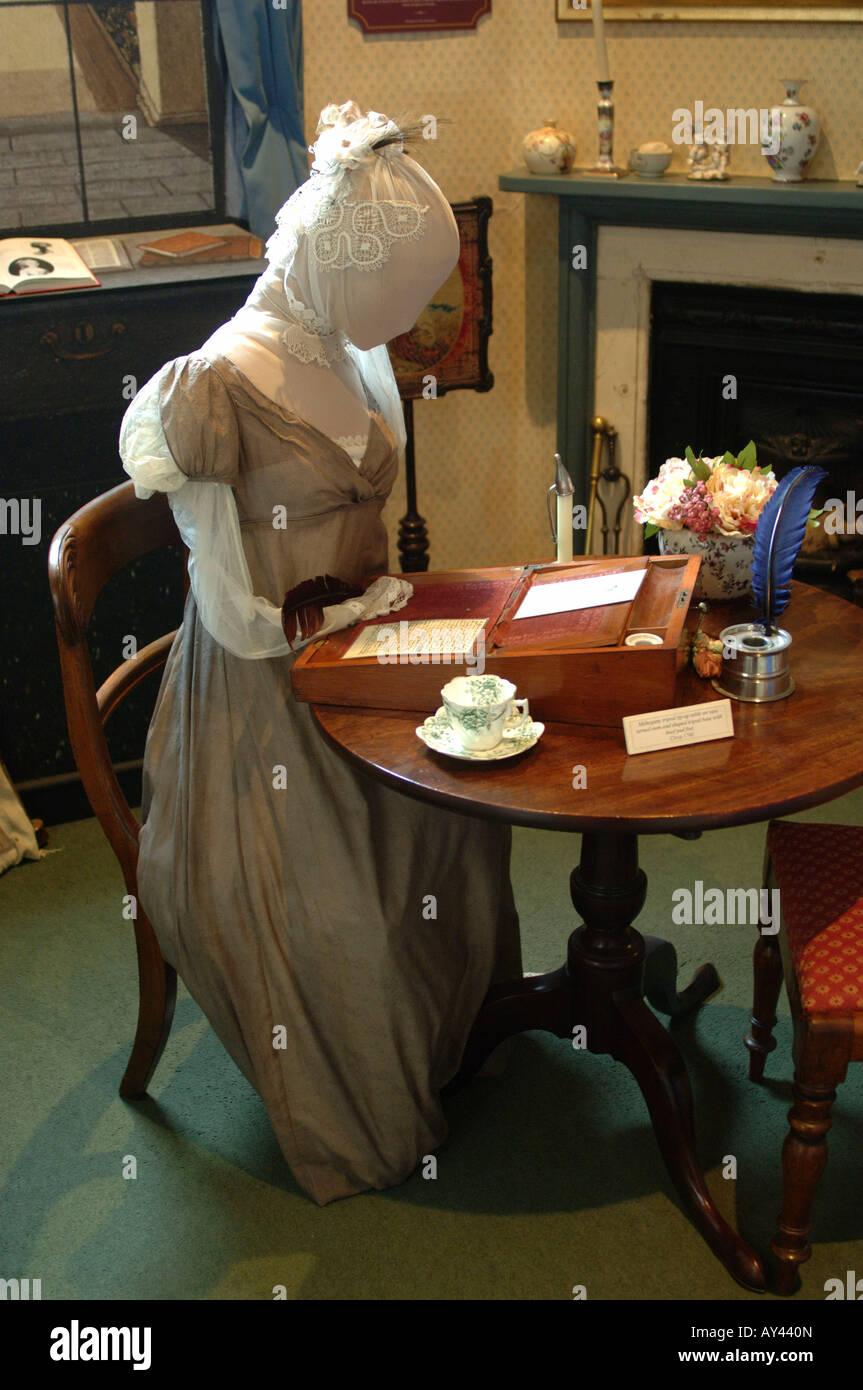 El centro de Bath Jane Austen Imagen De Stock