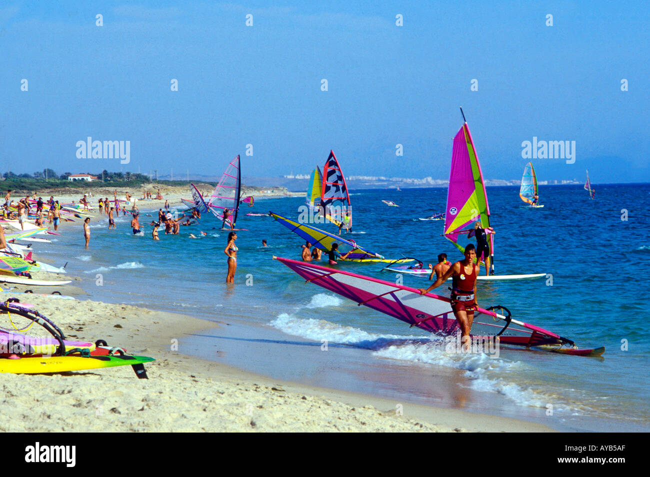 playas windsurf espana