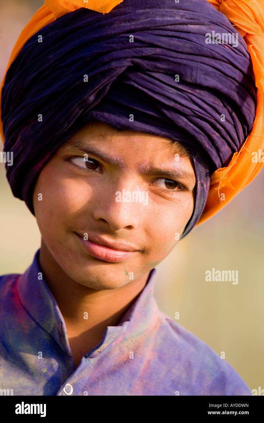 En sij Hollamohalla festival, Anandpursahib, Punjab, India Imagen De Stock