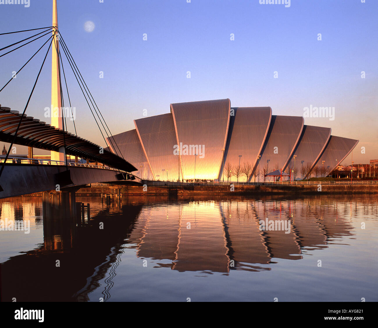 GB - Escocia: Scottish Exhibition and Conference Centre en Glasgow Imagen De Stock