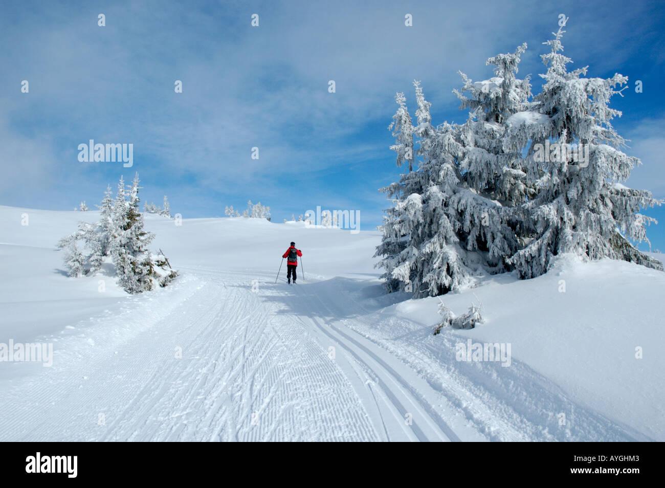 Esqui de fondo en noruega
