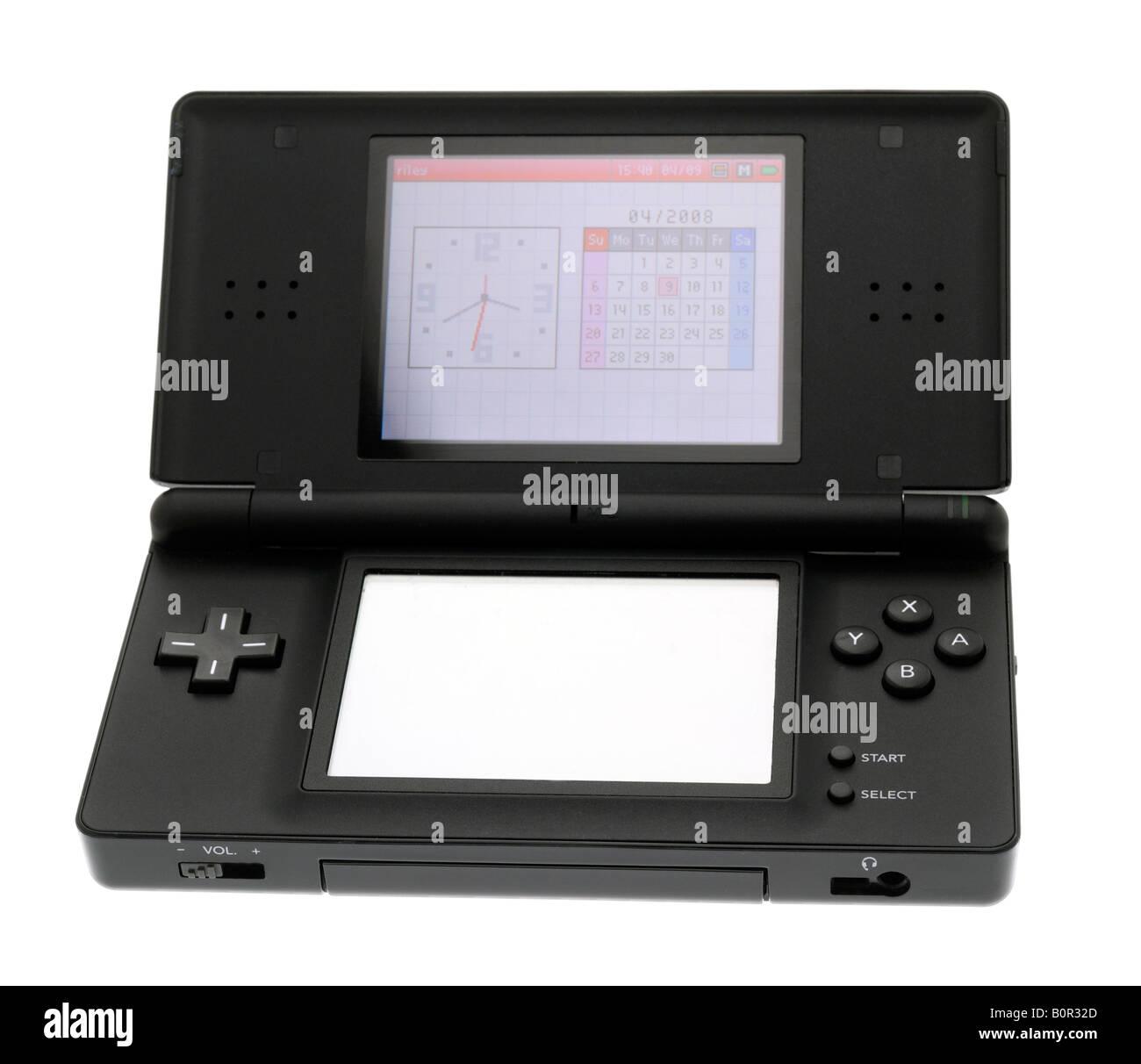 Nintendo Ds Lite Consola De Juegos Portatil Foto Imagen De Stock
