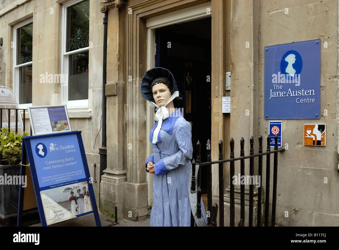 El Museo de Jane Austen, Bath, Somerset Imagen De Stock