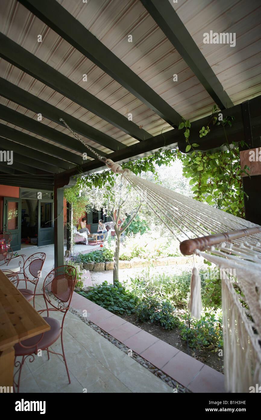 Chipre Terraza Y Patio De Estilo Colonial Casa Mediterránea