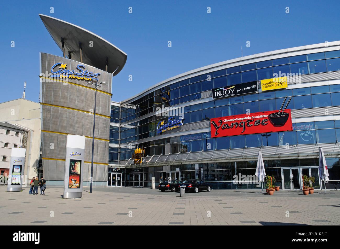 Estrellas de cine multiplex cinema en Dortmund, Renania del Norte-Westfalia, Alemania, Europa Imagen De Stock