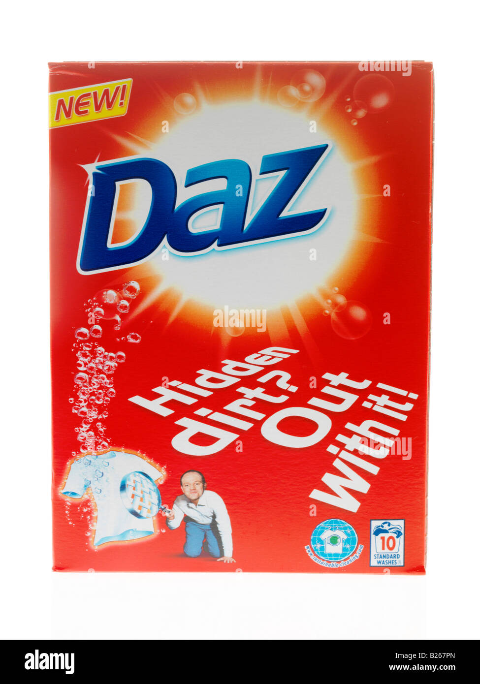 detergente en polvo Foto de stock