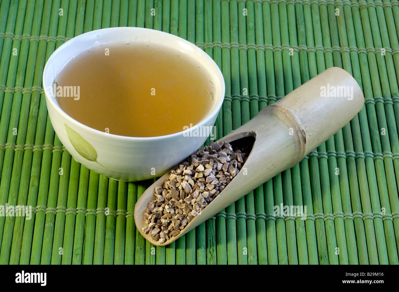De Peonía / té Mu Dan Pi Foto de stock