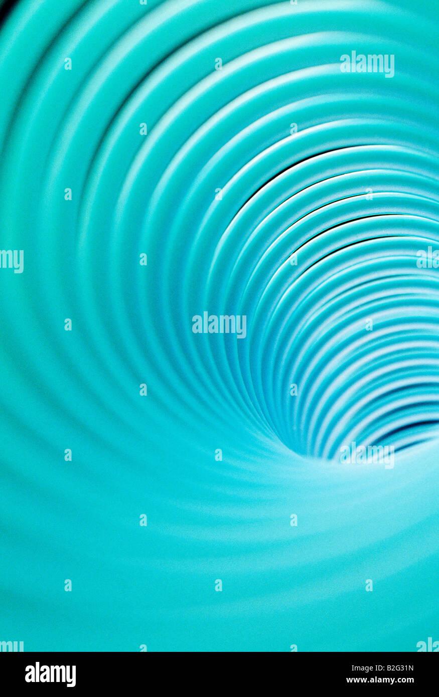 Resumen vista de cerca de un 'Slinky' toy Imagen De Stock