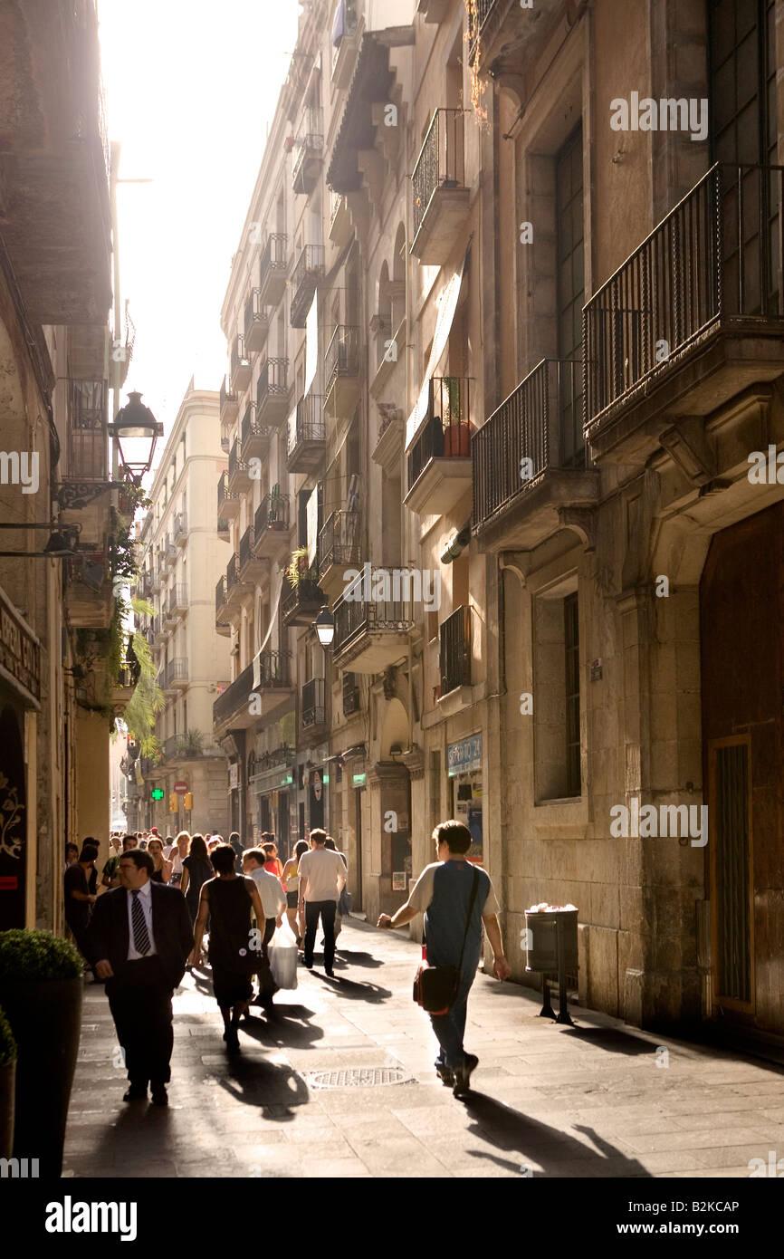 Barcelona, Cataluña, España Imagen De Stock