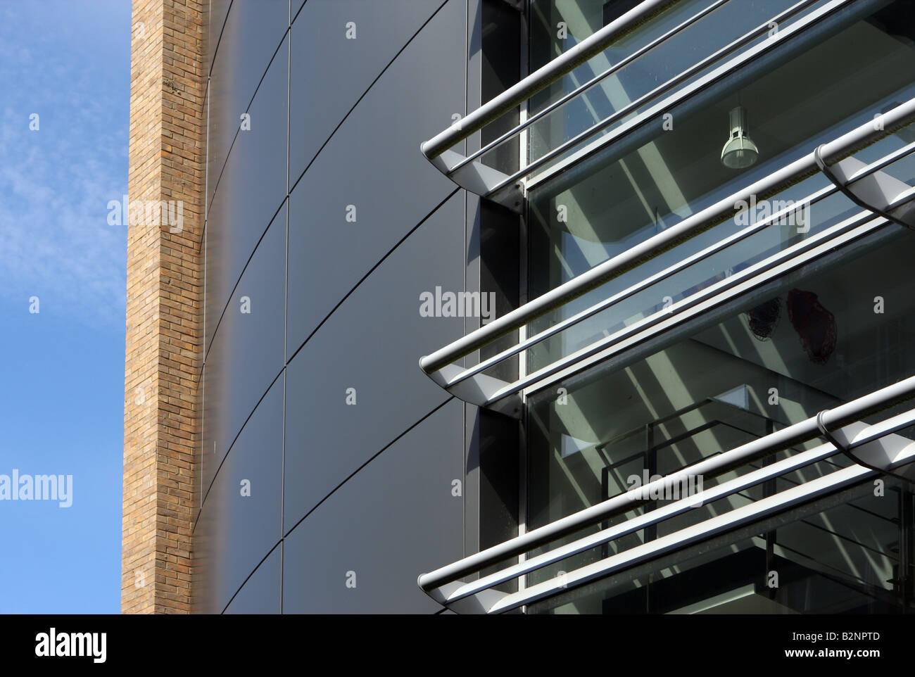 Detalle de Cardiac Science Center, del Departamento de Fisiología de la Universidad de Oxford, Oxford, Reino Imagen De Stock