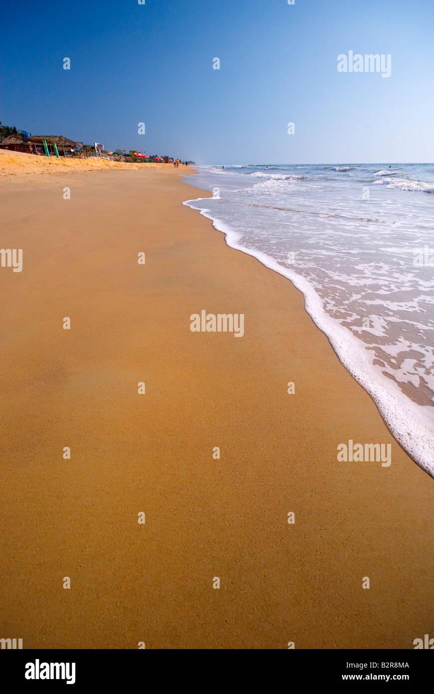 Benaulim Beach, Goa, India, el subcontinente, Asia Foto de stock