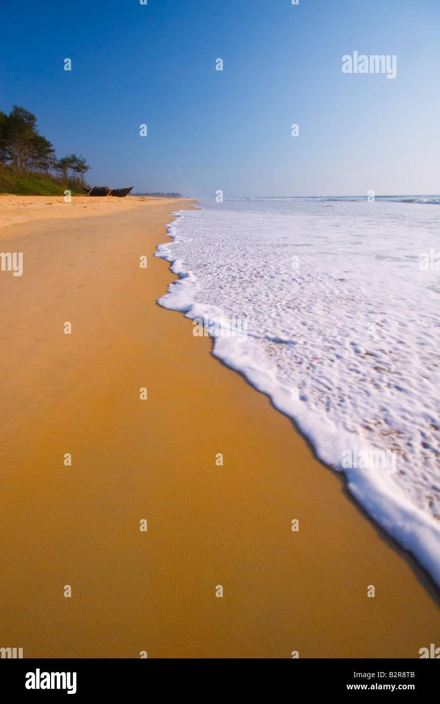 Playa Varca, Goa, India, el subcontinente, Asia Foto de stock