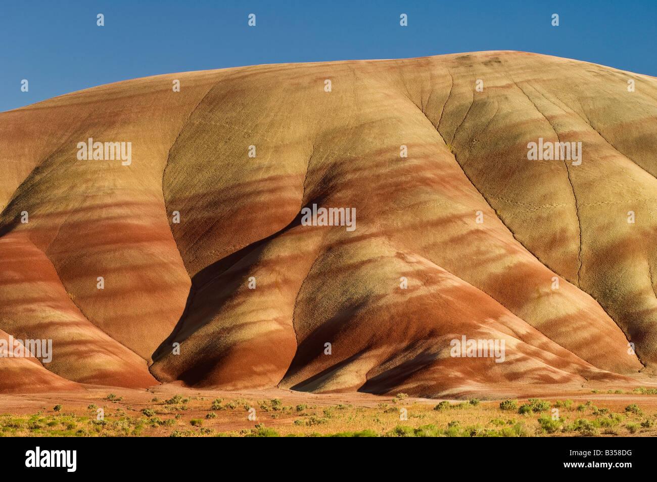 Cerros pintados John Día yacimientos fósiles Monumento Nacional Oregon Imagen De Stock