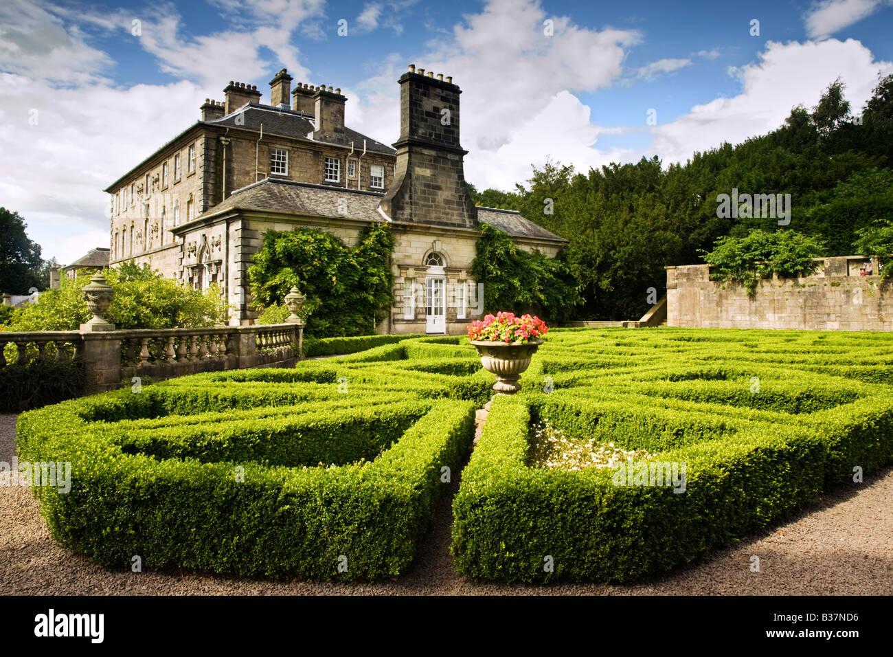 Pollok House Garden, Pollok Park, Glasgow, Escocia. Imagen De Stock