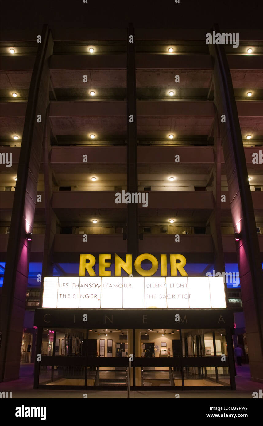 Renoir art house cinema - Centro comercial Brunswick - Bloomsbury - Londres Imagen De Stock