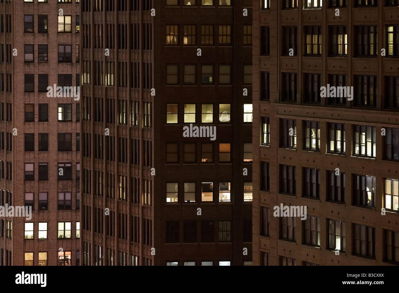 El edificio, de cerca Foto de stock