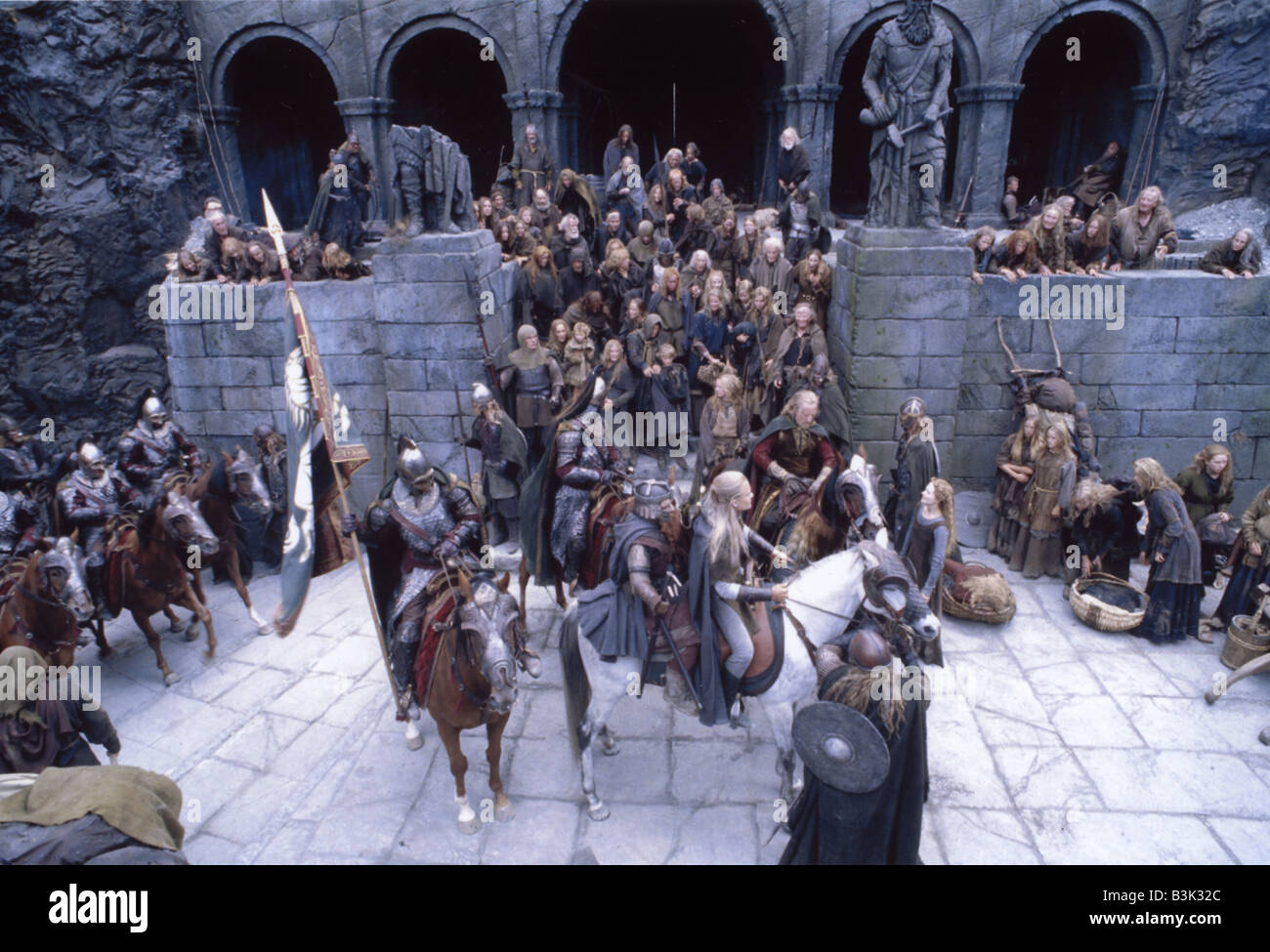 El señor de los Anillos: EL RETORNO DEL REY 2003 NewLine film Imagen De Stock