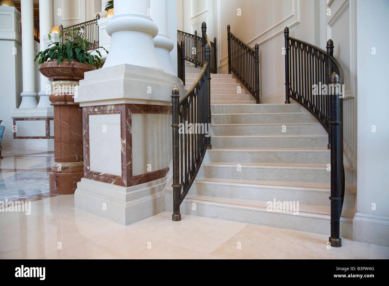 El Four Seasons Hotel de 5 estrellas de lujo de Doha (Qatar) Imagen De Stock