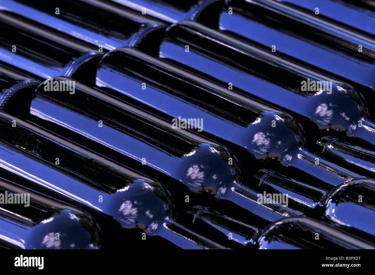 Botellas de vino Imagen De Stock