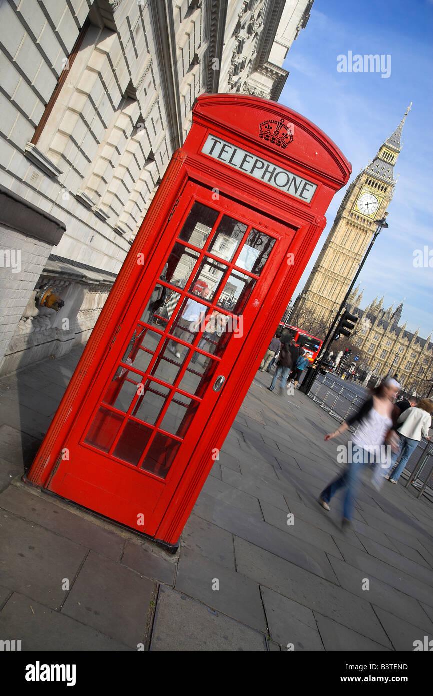 Cuadros Famosos Faciles.Inglaterra Londres Uno De Britain S Famosos Cuadros De Telefono