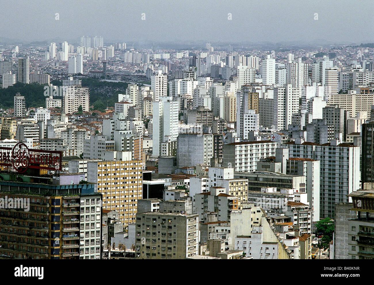 Geografía / viajes, Brasil, São Paulo, vistas a la ciudad, el paisaje urbano de la ciudad, resumen , Additional Imagen De Stock