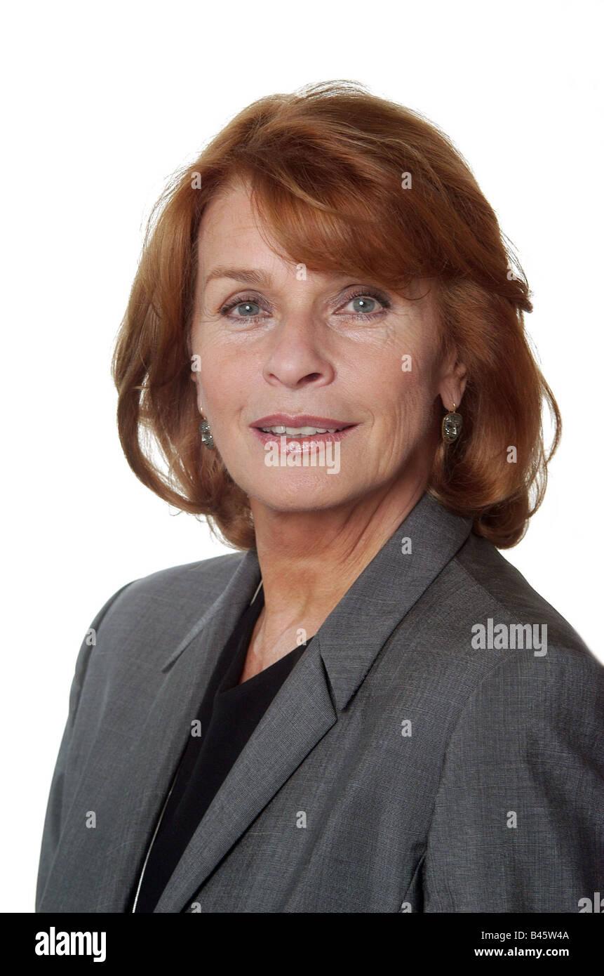 Berger, Senta, * 13.5.1941, actriz austriaca, retrato, 2005, Foto de stock
