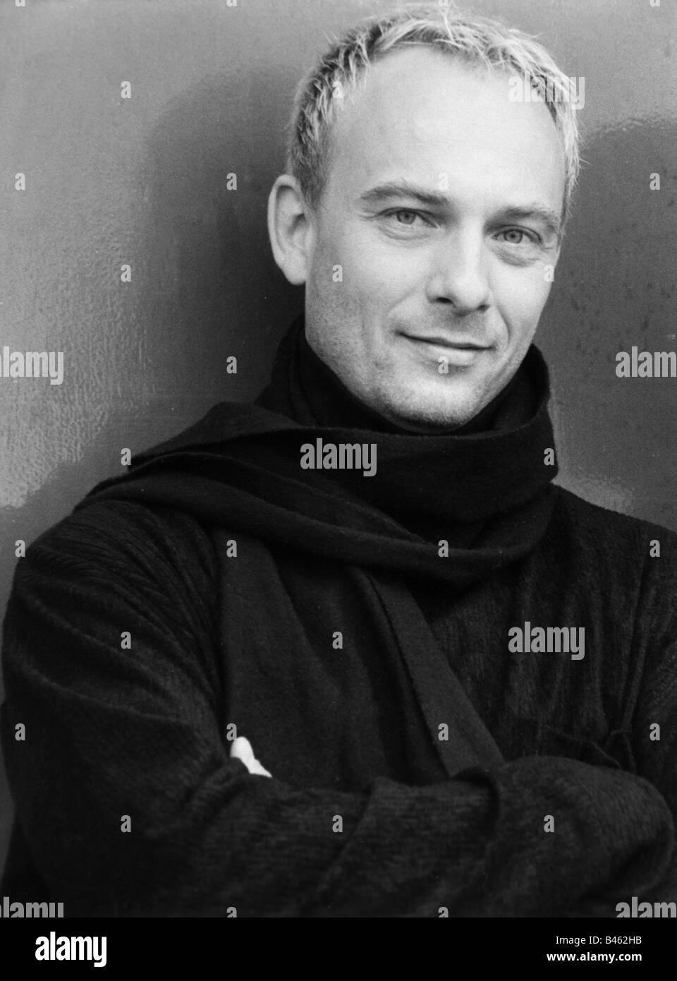 Fessler, Peter, músico alemán (cantante), retrato, foto llamada, Stuttgart, 1998, Additional-Rights-juegos Imagen De Stock