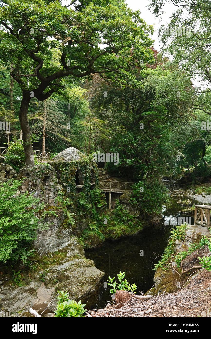 La Ermita, Tollymore Park, las Montañas Mourne, cerca de Newcastle, Condado de Down, Irlanda del Norte, REINO UNIDO Foto de stock