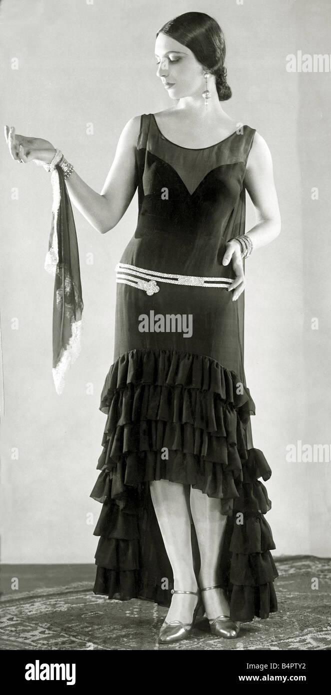 Vestidos de noche de 1920