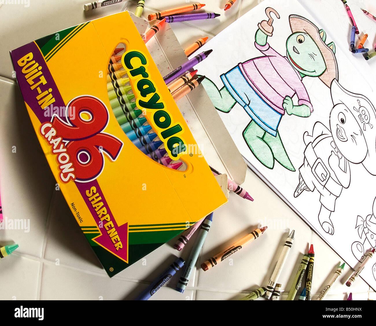 Crayola Crayon Imágenes De Stock & Crayola Crayon Fotos De Stock - Alamy