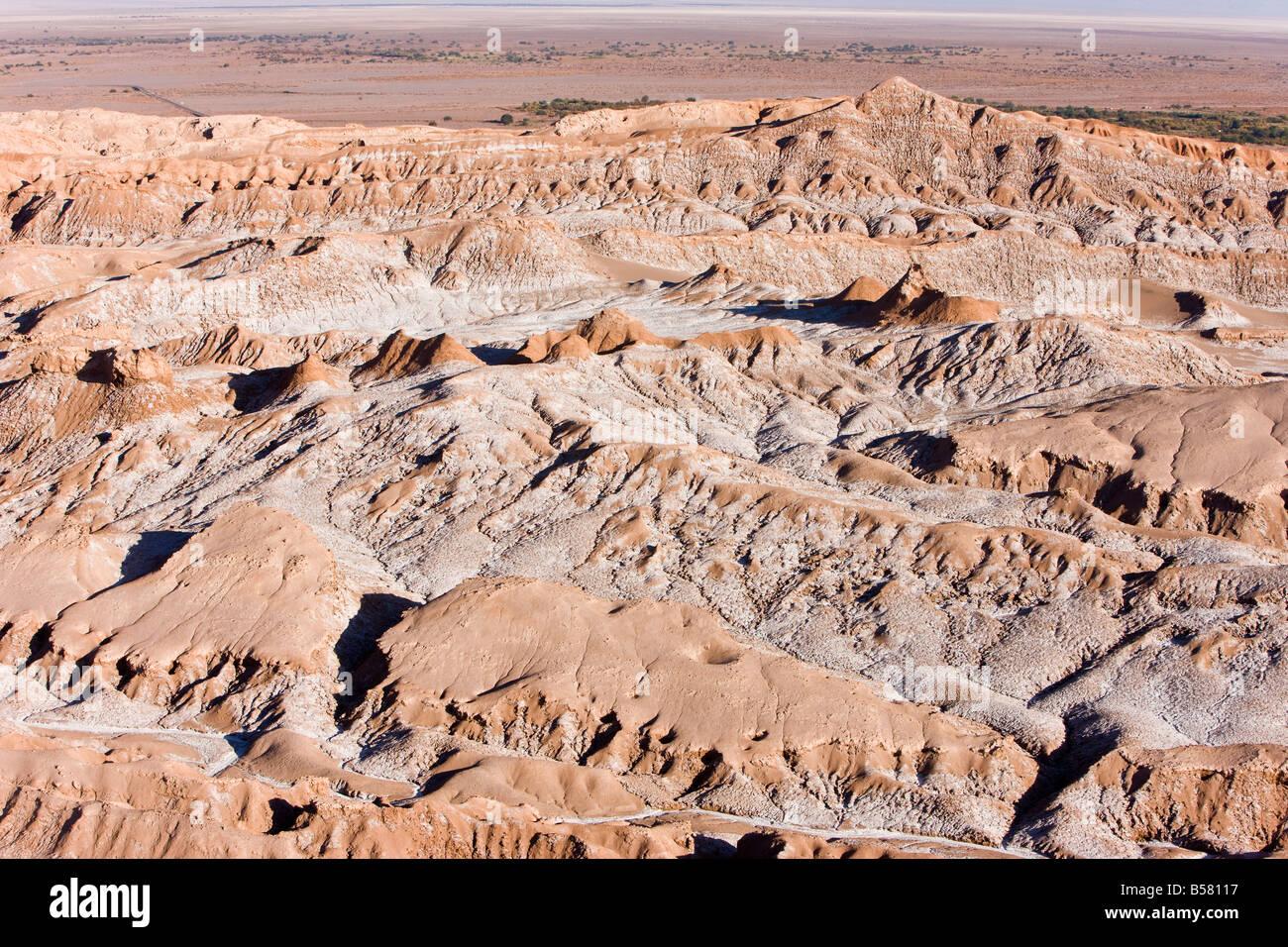 Valle de la Luna (Valle de la luna), el desierto de Atacama, Norte Grande de Chile, Sudamérica Imagen De Stock